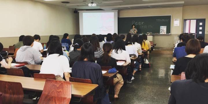 キャリアとライフ命を考える講演@立正大学
