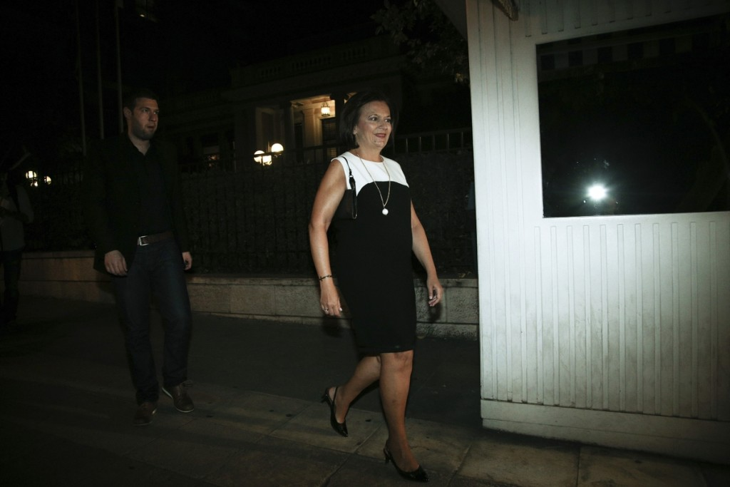 Reception at Maximos Mansion, of the parliamentary MP groups of SYRIZA and ANEL, that form the coalition government. In Athens, on Oct. 6, 2016 / Δεξίωση στο Μαξίμου, της κοινοβουλευτικής ομάδας του ΣΥΡΙΖΑ και των ΑΝΕΛ, στις 6 Οκτωβρίου, 2016