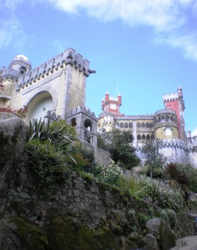 One of the first wows you could hear from me for the Palácio da Pena!