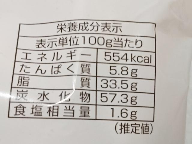 コスモス:京都天狗の横綱あられのカロリーと栄養成分