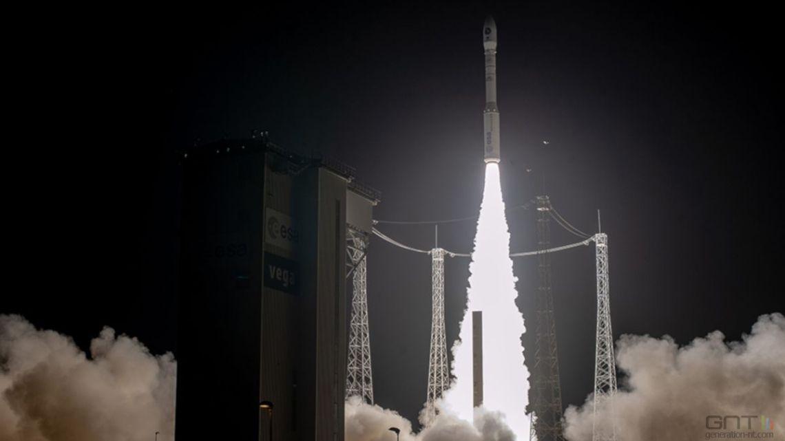 Mission réussie pour la fusée Vega !