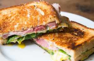 what cook for dinner sandwich using ham