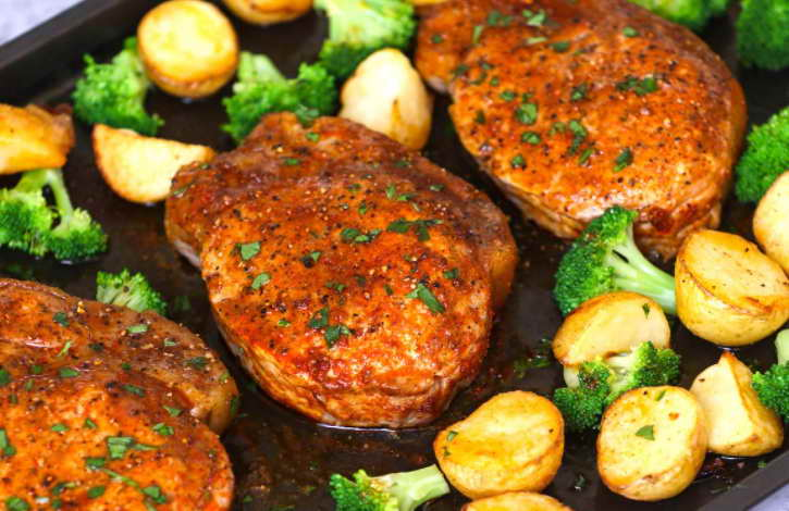 Cook Pork Chops in Oven