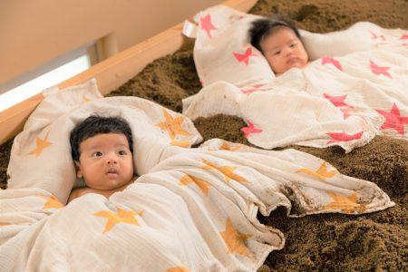 赤ちゃんの手足が冷たいのは、もしかして冷え性?