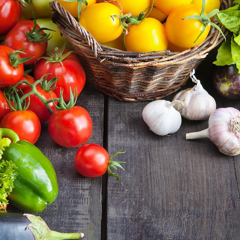 Des légumes frais de saison à 100%