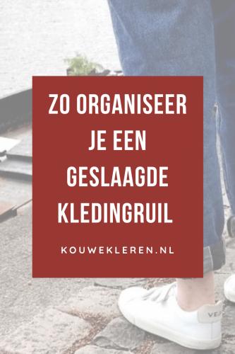 Kledingruil organiseren goede tips