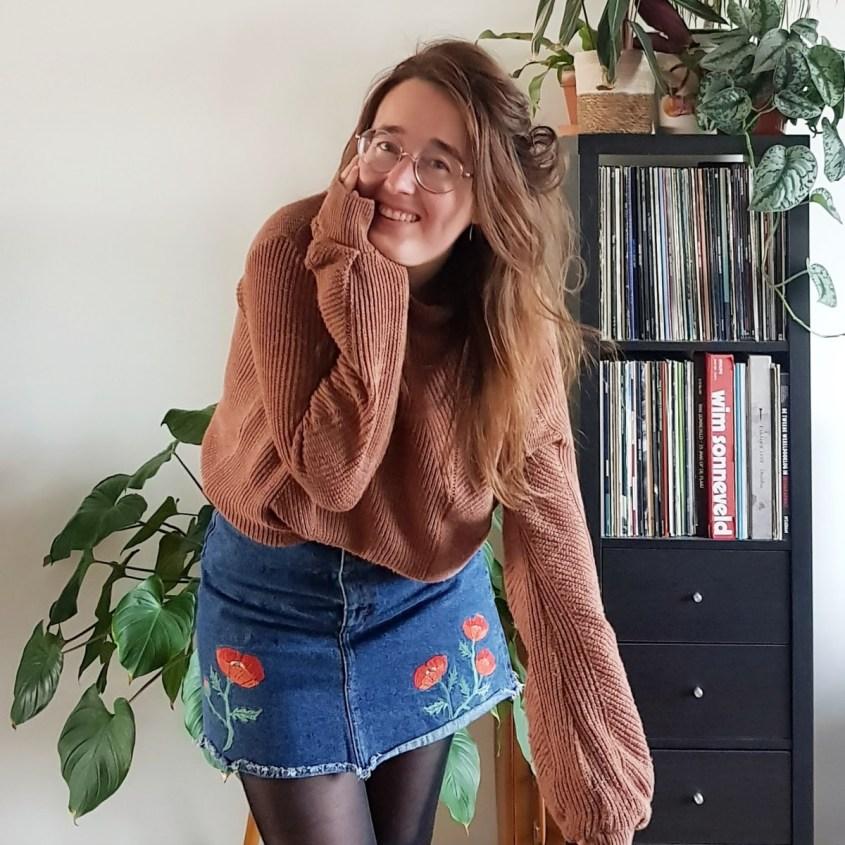 Styling challenge - tweedehands trui stylen