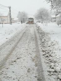 Čišćenje snega u Crepaji