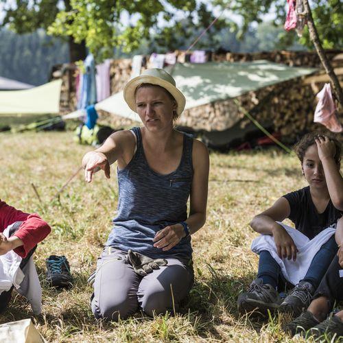 KoviveCamp fr Kinder und Jugendliche Flusspiraten