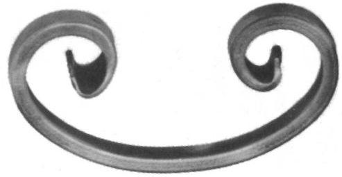 """Кованые элементы от """"Кузницы Урала"""" недорого: Барашки,Валюты, Доллары, Запятые и другие."""