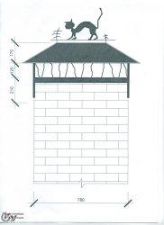 """Дымники от компании """"Кузницы Урала"""". Также делаем ворота, перила, заборы, ограждения, лестницы, калитки, козырьки, навесы, скамейки, столы и другие изделия из ковки."""