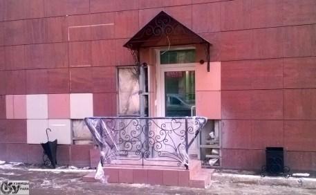 Кузницы Урала - кованая входная группа