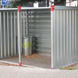 3M Open Front Container