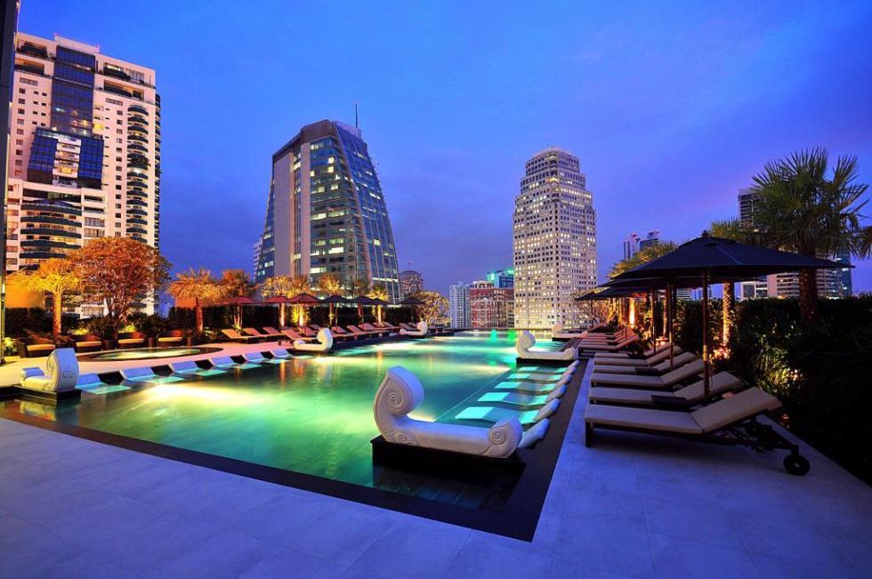 Notre 1er hôtel à Bangkok