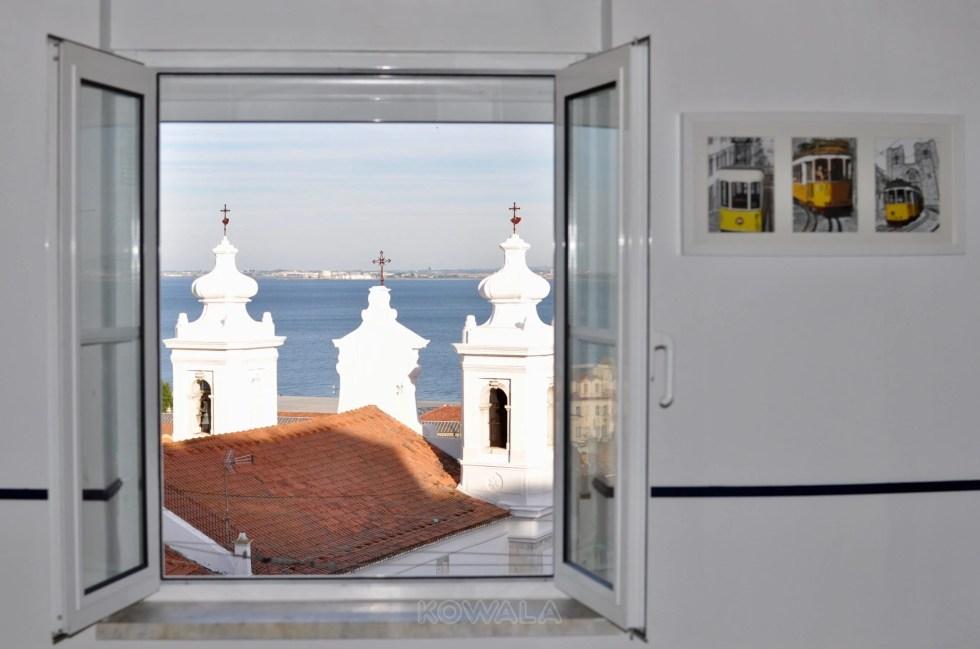 Vue airbnb Lisbonne kowala