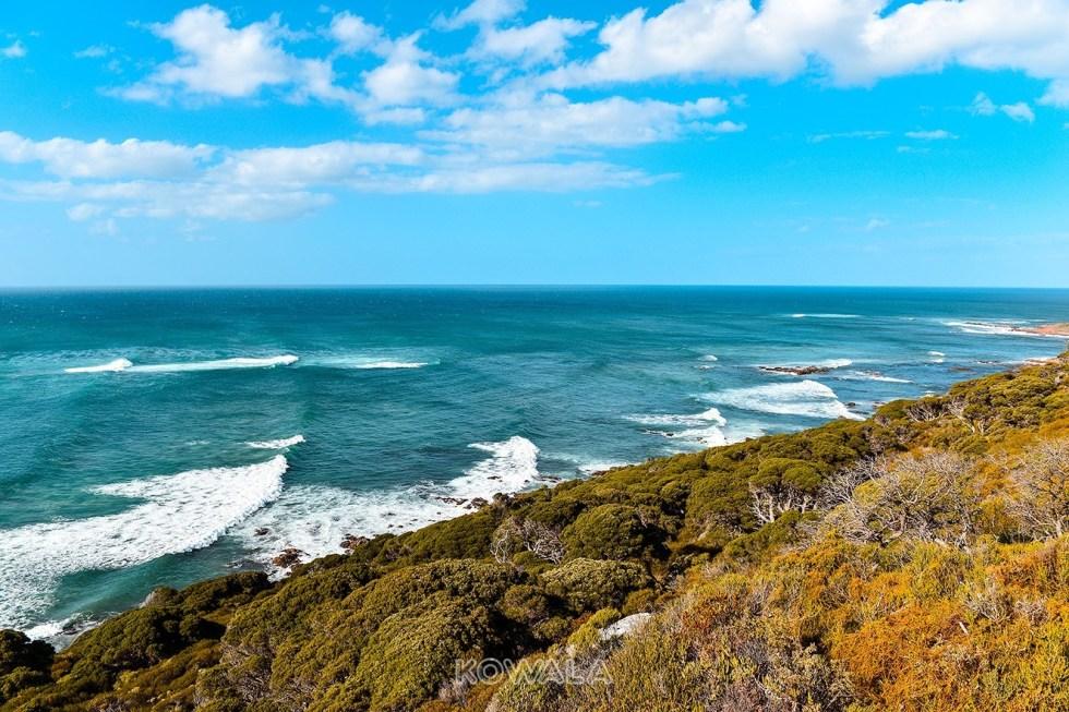 Cape Naturaliste Dunsborough Océan Indien Western Australia WHV PVT road trip