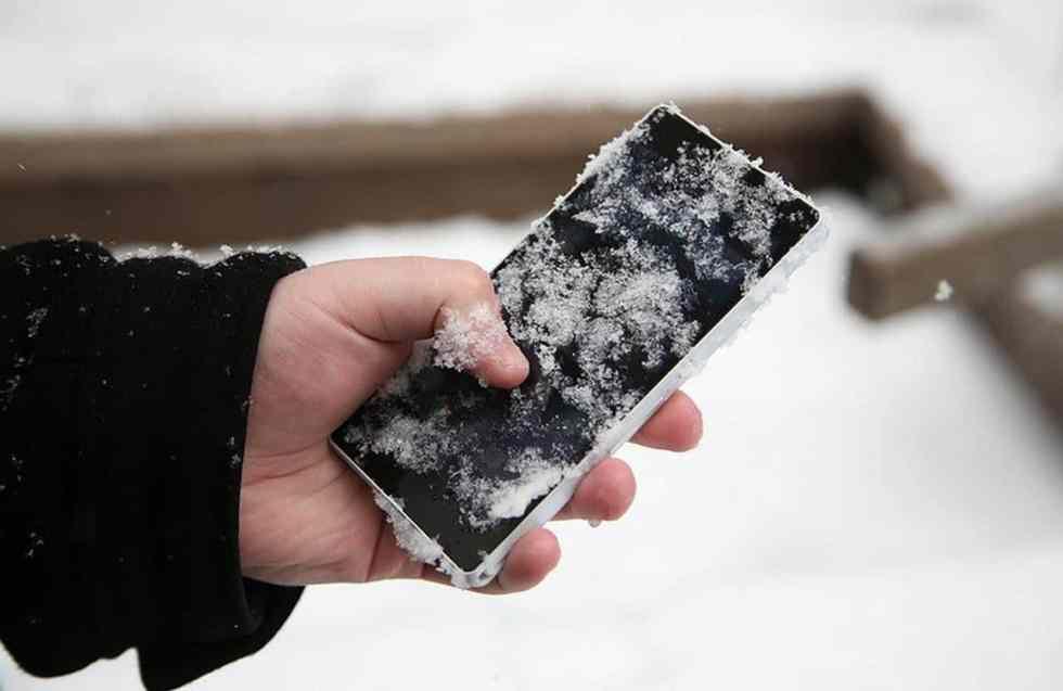 Le froid tue la batterie des téléphones mobiles