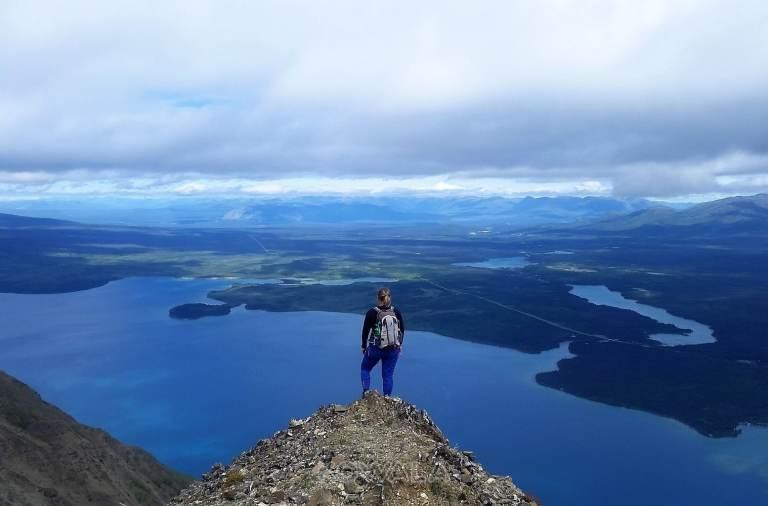 randonnée : mi-chemin entre le trône et le sommet