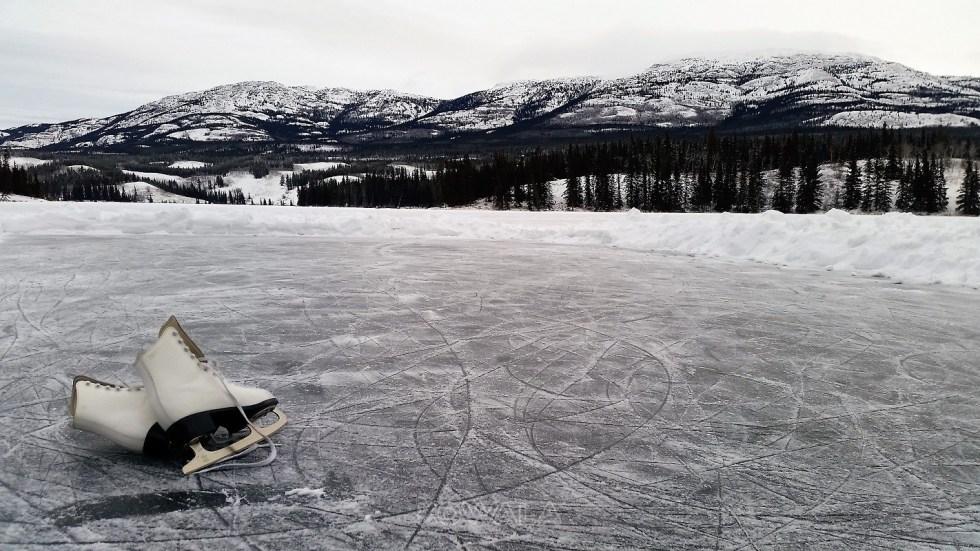 lac gelé yukon