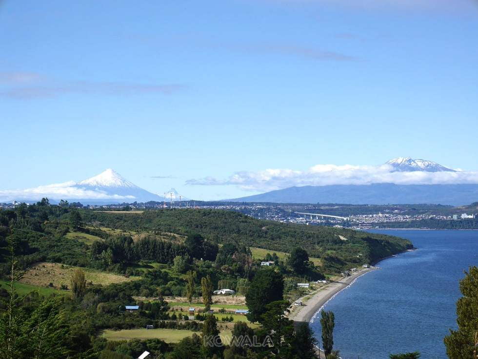 Isla Tenglo, près de Puerto Montt, Chili.