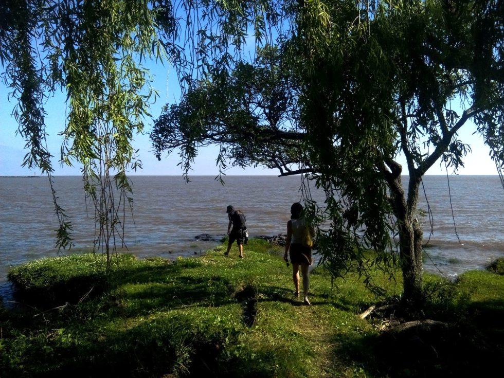 Les bords du Rio de la Plata, à Colonia, en Uruguay.
