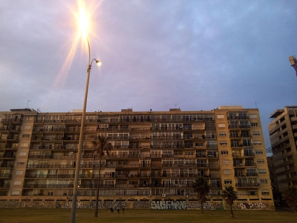 Immeuble à Montevideo, en Uruguay