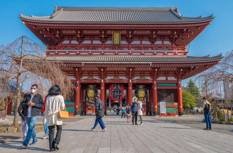 temple Sensoji de Tokyo, Japon