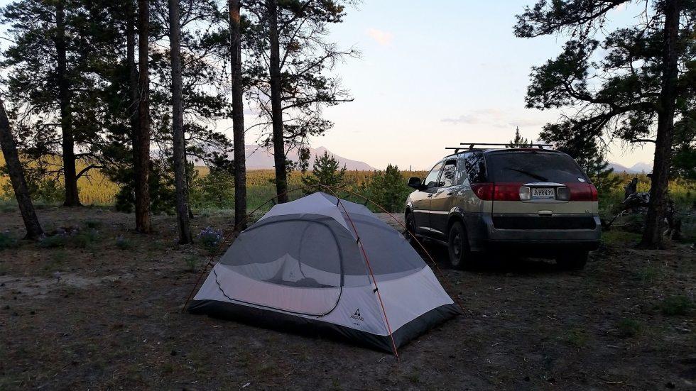 Camping Canada Yukon