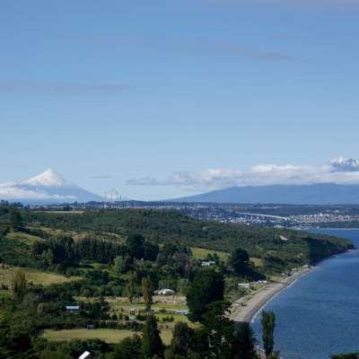 Isla Tenglo au Chili, près de Puerto Montt