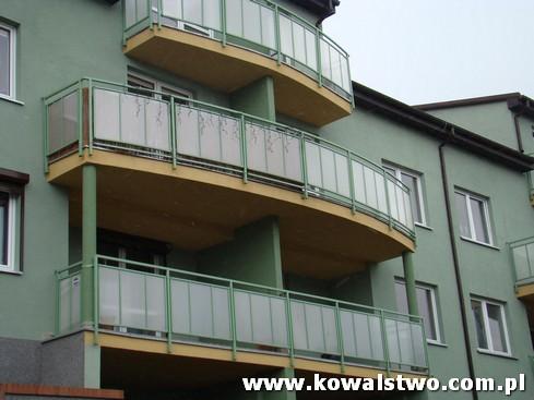 Kowalstwo Szczecin, Balustrady balkonowe na bloki mieszkalne 1