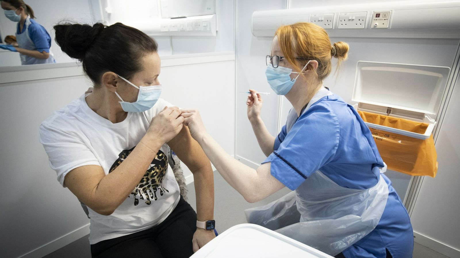 COVID-19: UK breaks daily jab record with more than 660,000 vaccine doses administered