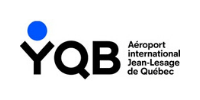 Logo aéroport international Jean Lesage de Québec