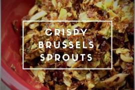 crispy brussels sprouts rads kowthas keto
