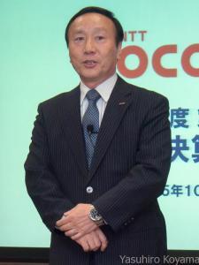 ドコモの加藤薫社長