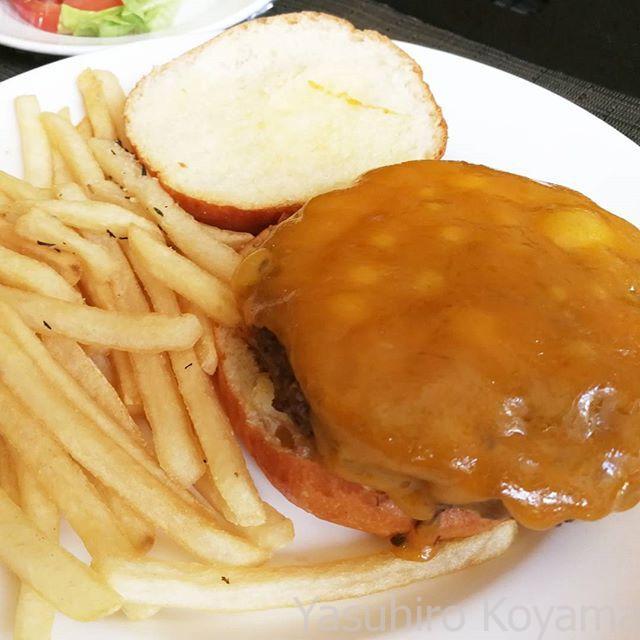 そしてランチはまたハンバーガー