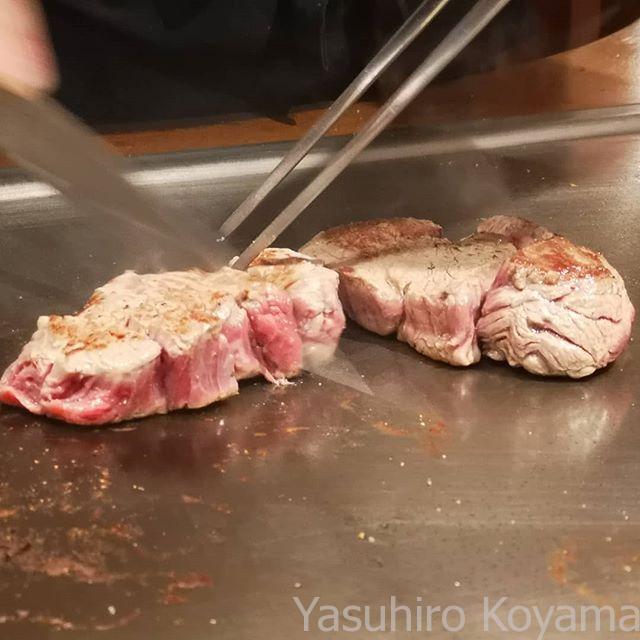 焼かれて斬られる肉たち