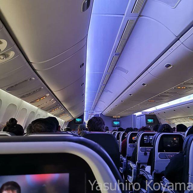 搭乗。次は日本で。
