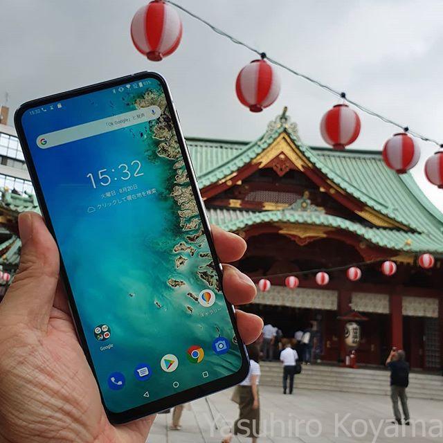 Zenfone 6。下のモデル6万円台は安いな。
