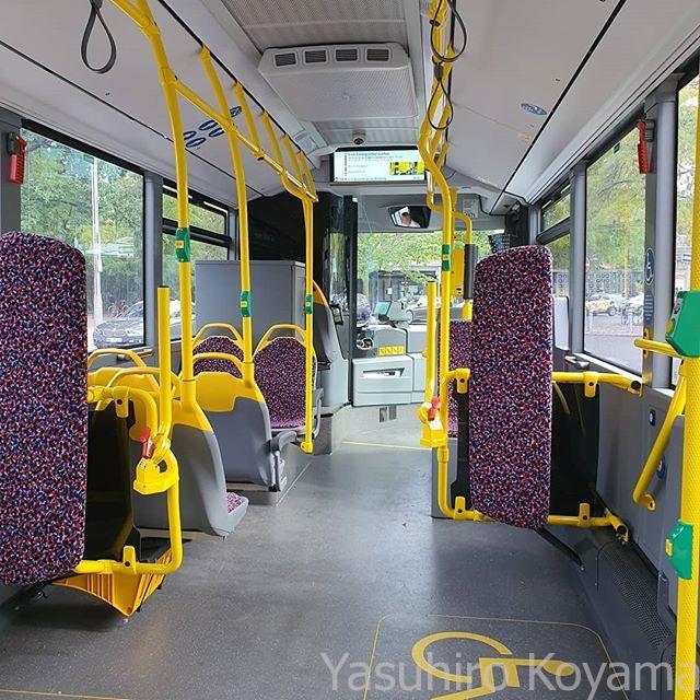 せっかくチケットがあるんだしと、バスに乗って移動。バス停を探して待つ時間を考えると、面倒は面倒ね。