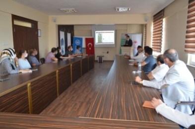 Kilis'te 'Köyümde Yaşamak İçin Bir Sürü Nedenim Var' Projesi toplantısı yapıldı