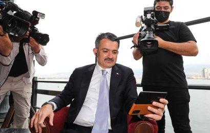 Bakan Pakdemirli, İzmir'den Bolu'ya müjde verdi…