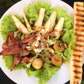Golden Pear Salad