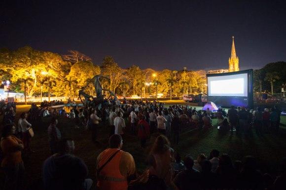 Festival Ile courts - Projection à Rose Hill