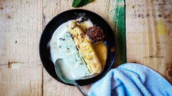 Bol crème glacée