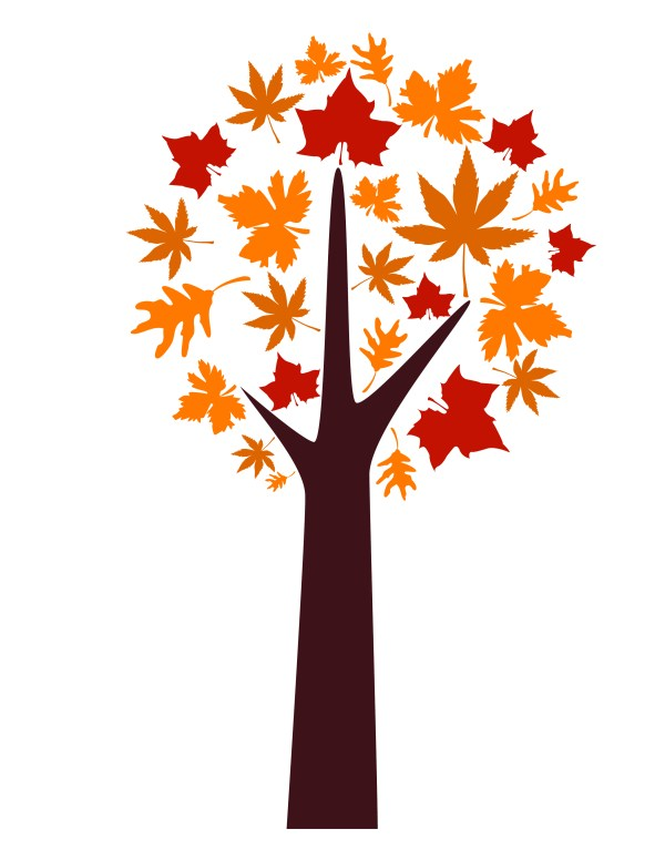 Creating Autumn Tree Koz Graphics