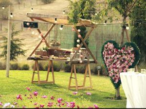 imagenes y videos de catering en madrid - Catering Kozinart: puesto tematico love