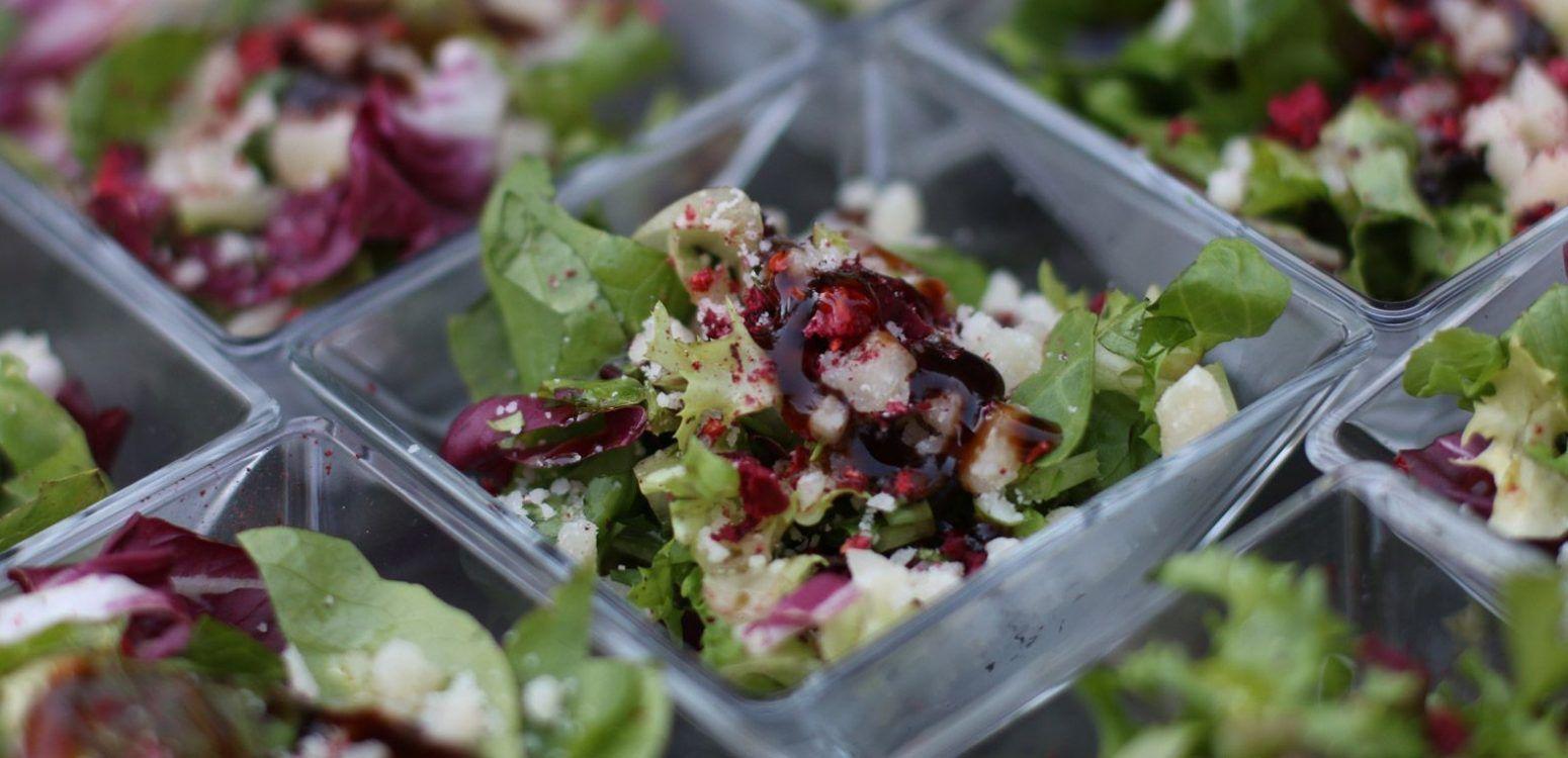 ensaladas para eventos catering madrid