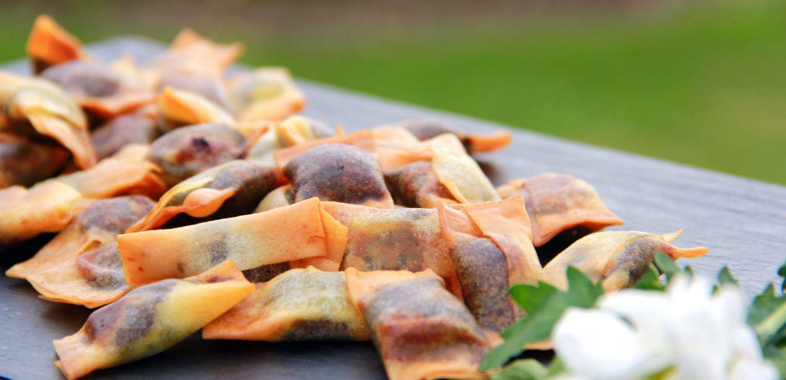 empanadillas de morcilla para tu evento, catering madrid