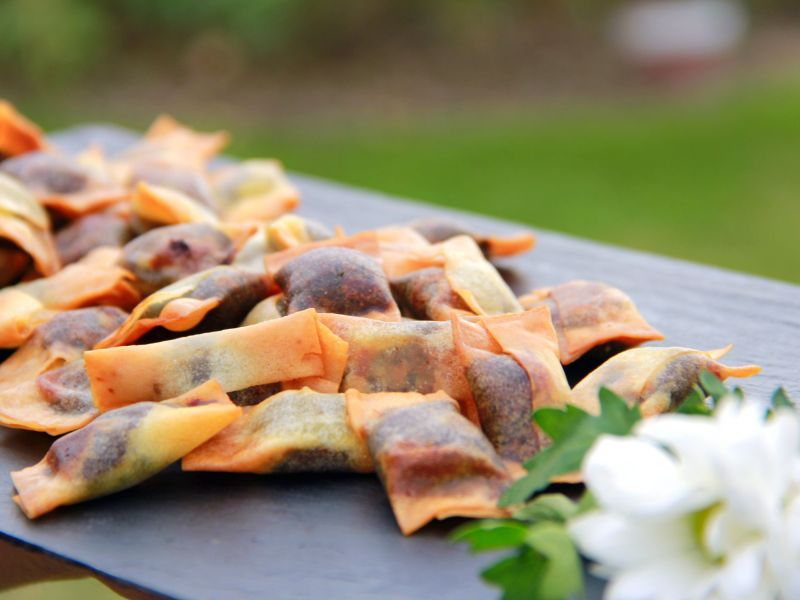 empanadillas de morcilla para tu evento, catering madrid