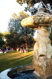 jardines y fuentes para tu boda